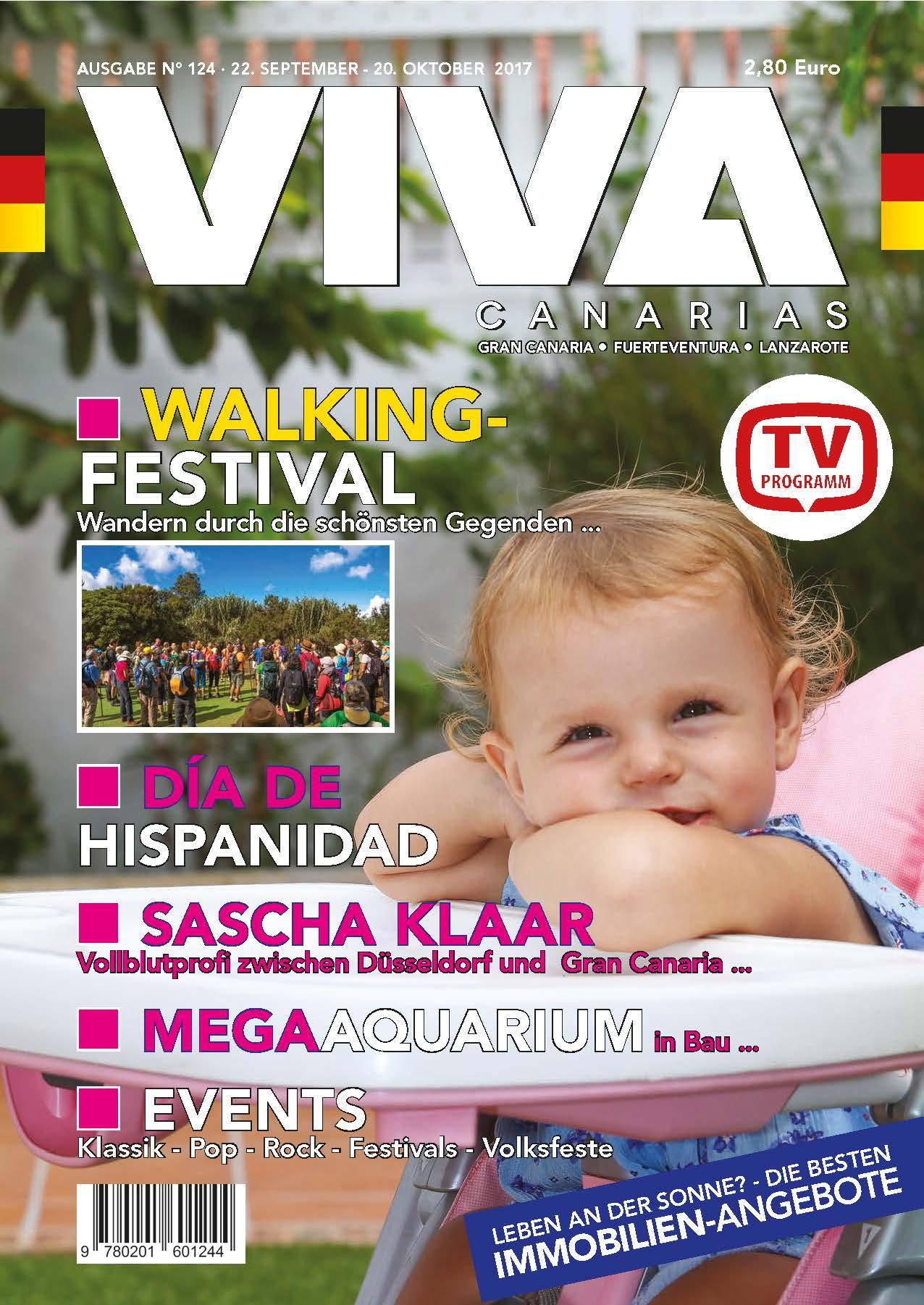 Sascha Klaar in der VIVA Canarias